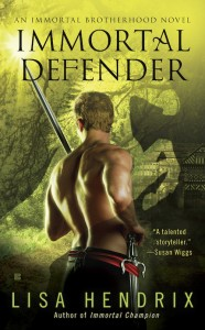 Les guerriers maudits - Tome 4 : Immortal Defender de Lisa Hendrix Prelim-ImmDef-cover-sm-for-web-186x300