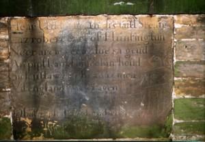 Robin's headstone