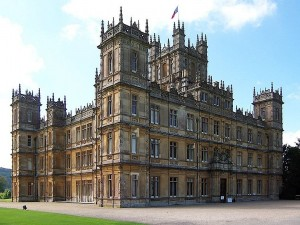 Downton Abbey, aka Highclere Castle