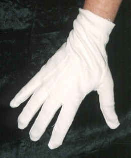 Of white gloves and women